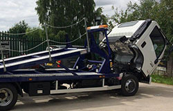 New double car transporter